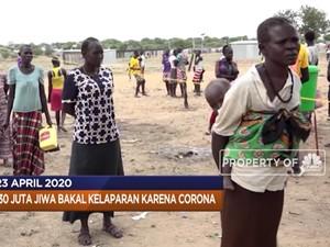 130 Juta Jiwa Bakal Kelaparan hingga Hewan Terjangkit Corona