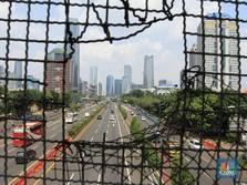Penampakan Keramaian Lalu Lintas Jakarta Saat Penerapan PSBB