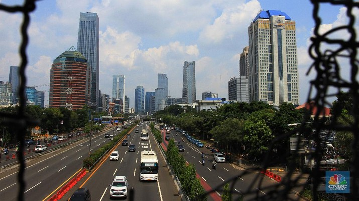 Ilustrasi PSBB. (CNBC Indonesia/Tri Susilo)