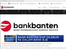 Bank Banten Siap Lebur ke Dalam Bank BJB