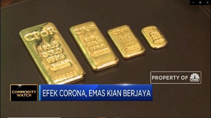 Capai Rp 2 Juta per Gram, Emas Kian Berjaya di Tengah Corona