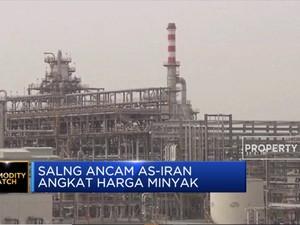 AS dan Iran Saling Ancam, Harga Minyak Jadi Naik