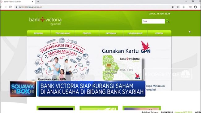 BVIC Bank Victoria Jajaki Undang Investor untuk Anak Usahanya