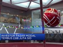 Investor Pasar Modal Tembus 2,68 Juta SID