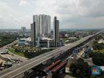 Jokowi Larang Mudik, Ini Penampakan Udara Tol Layang Japek
