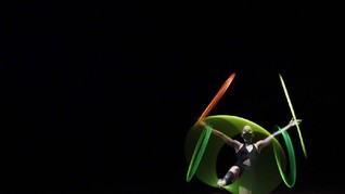 FOTO: Totalitas Tim Sirkus Gelar Pentas Virtual kala Corona
