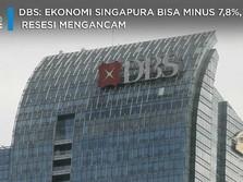 DBS: Ekonomi Singapura Bisa Minus 7,8%, Resesi Mengancam