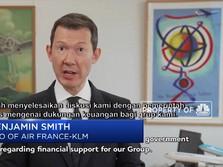 Pemerintah Belanda dan Prancis Bailout Air France & KLM