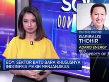 Boy Thohir: Efisiensi Kunci Adaro Hadapi Tekanan Harga