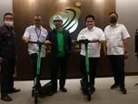 Grab Sumbang 100 GrabWheels ke RS Darurat Wisma Atlet