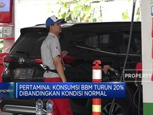 Mudik Dilarang, Konsumsi BBM Turun 20%