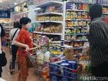 Jelang PSBB Surabaya, Toko Ritel Sempat Diserbu Pengunjung