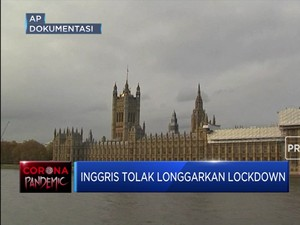 Beda Dengan Negara Eropa Lainnya, Inggris Ogah Cabut Lockdown