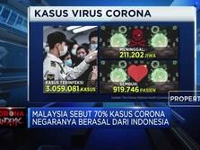 Malaysia Sebut Peroleh Impor Covid-19 Dari RI, Oh Ya?