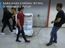 Gara-Gara Corona 197 Mal Di Indonesia Tutup