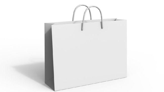 Shopping Bag Challenge, Saat Tas Belanja Jadi Pakaian