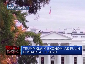 Klaim Baru Trump: Ekonomi AS Pulih Q3-2020