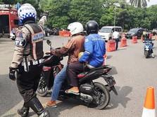 30 Ribu Lebih Kendaraan Pemudik Dipaksa Putar Balik