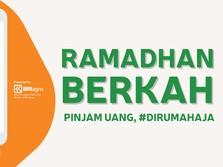 Ramadhan Berkah, Bisa Pinjam Uang #dirumahaja