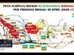 Mentan:Defisit Pangan Satu Provinsi Bisa Ditutupi Daerah Lain
