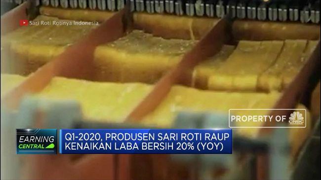 ROTI Laba Bersih Produsen Sari Roti Naik 20% pada Q1-2020