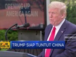 Geram Akibat Corona, Trump Siap Tuntut China