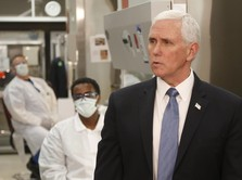 Wakil Presiden AS Mike Pence Negatif Covid-19
