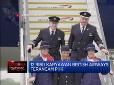 12 Ribu Pegawai British Airways Terancam PHK