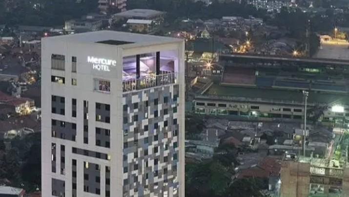 Hotel Mercure Jakarta Selatan yang Dijual (Screenshot via OLX)