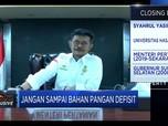 Ini Penjelasan Mentan Soal Defisit Pangan Sejumlah Provinsi