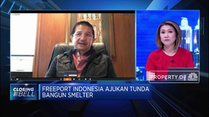 Tony Wenas Optimistis Freeport Mampu Biayai Proyek Investasinya  (CNBC TV )