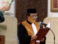 Jokowi Lantik Ketua MA Muhammad Syarifuddin