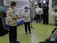 Lawan Covid-19, CT Corp Serahkan Alat Medis ICU & HCU ke RSCM