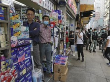 Resesi Hong Kong Kian Parah, Ekonomi Minus 8,9%