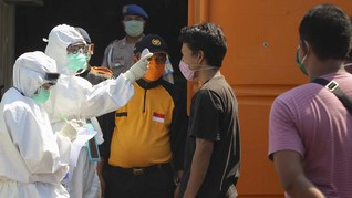 Epidemiolog Sebut Puncak Corona Jatim Meleset dari Prediksi