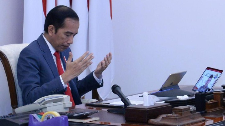 Presiden Joko Widodo (Jokowi). (BPMI Setpres/Kris)