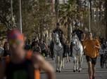 Intip Ragam Aktivitas Warga Spanyol Usai Lockdown Dikendurkan