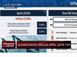 BPS: Inflasi April 2020 Mencapai 0,08% (mtm)