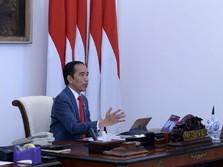 Deflasi Bahan Pangan, Jokowi Sebut Daya Beli Masyarakat Turun