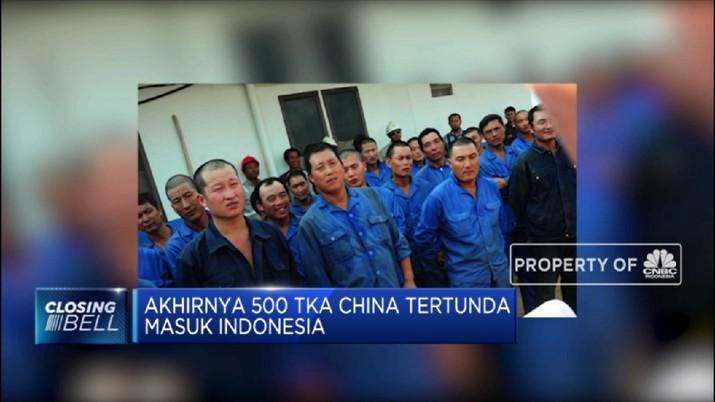 Akhirnya 500 TKA China Ditunda Masuk Indonesia