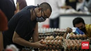 Pemprov Jabar Bantah Telur Bansos di Gudang Bulog Garut Busuk