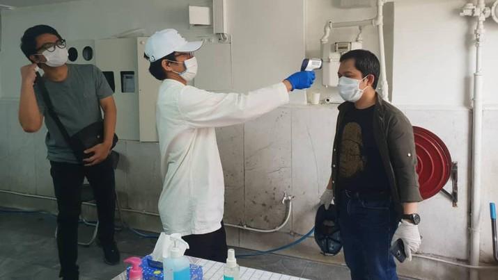 Test darah WNI di Tehran (KBRI Tehran)