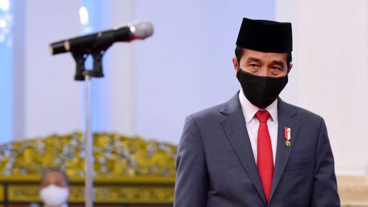 Pelantikan dan Pengucapan Sumpah Kepala PPATK Dian Ediana di Istana Negara, Rabu (6/5/2020). Foto: Muchlis Jr - Biro Pers Sekretariat Presiden