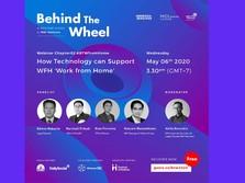Webinar Series Telkom & MDI Ventures, Teknologi Dukung WFH