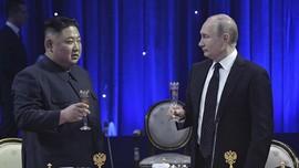 Kim Jong-un Dapat Medali Perang Dunia II dari Presiden Rusia