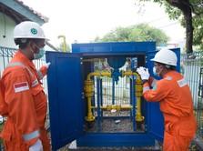 PGN Pertahankan Volume Penyaluran Gas Bumi di Triwulan I-2020