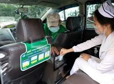 Terjang Risiko, Kisah Driver GrabCar Antar Tenaga Medis
