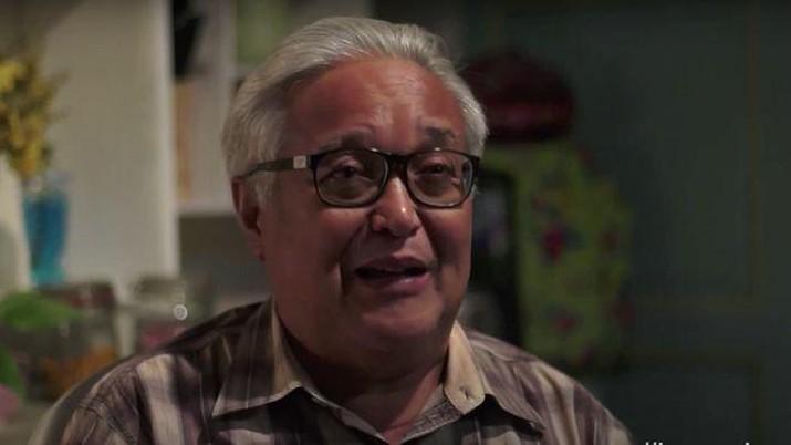 Adi Kurdi, pemeran Abah di Keluarga Cemara (Screenshot via youtube Legacy Picture)