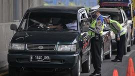 Hari Idulfitri, 2.717 Kendaraan Pemudik Diputar Balik ke DKI