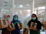 Gerakan #Bangsakuat Donasi Ribuan Makanan ke Tenaga Medis RI
